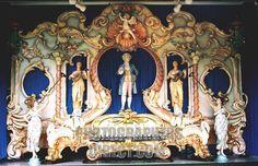 Detail of Ruth Victorian Fairground Organ