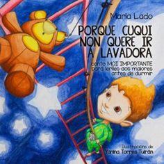 Porque Cuqui non quere ir á lavadora, de María Lado    #literatura #galego #Apiario