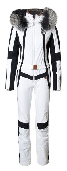 One piece chic for the ski slopes! Sportalm's Auron at Winternational.