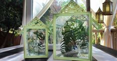 """""""I have a stack of frames & I'm SO making one of these for my table!"""""""