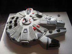 Lego Millenium Falcon Cake | Flickr - Photo Sharing!