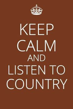 Yes, Country music is the best. Nothing makes you feel better or brings back so many memories. Addiction to country? Yup :)