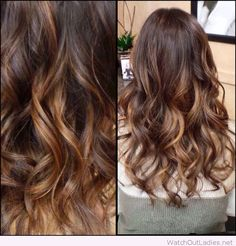Brown-ombre-balayage-hair-color-for-dark-hair