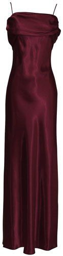 Grecian Satin Prom Formal Gown Long Holiday Party Cocktail D
