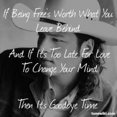 Blake Shelton – Goodbye Time Lyrics | Genius Lyrics