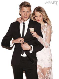 Jakob Kosel i Karolina Pisarek w kampanii Apart, fot. Wedding Photography, Glamour, Couples, Wedding Dresses, Inspiration, Instagram, Bar Refaeli, Top Models, Coco Chanel