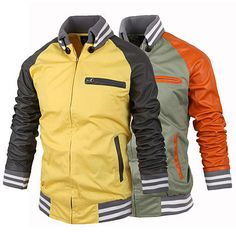Slim Fit Men Fashion Zip Varsity Style Jacket . Shop Now At  http://sneakoutfitters.com/collections/new-in/products/slim-fit-men-fashion-zip-varsity-style-jacket-ao-cybb-mb-711-so80