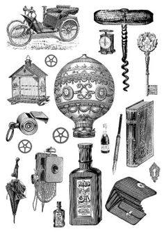 Steampunk | Collagebogen