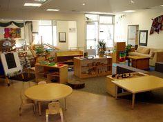 Classroom #1: Toddlers Preschool Layout, Preschool Set Up, Preschool Rooms, Classroom Layout, Preschool Curriculum, Classroom Setting, Classroom Design, Preschool Classroom, Preschool Ideas
