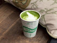 Green lattes > normal lattes: http://www.thecoveteur.com/matcha-latte-recipe/