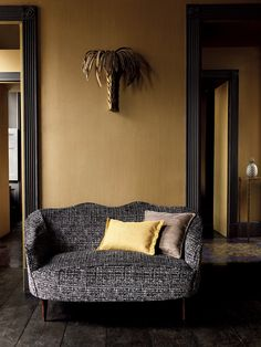 [New] The 72 Best Home Decor Ideas Today (with Pictures) Living Room - Furniture Styles, Furniture Design, Mustard Yellow Walls, Yellow Interior, Interior Decorating, Interior Design, Mid Century Modern Furniture, Room Colors, Colorful Interiors