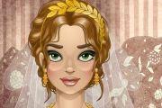 من اصعي البشرات البشرة السمراء لدا نرجو منك مساعدة هذه العروس على اختيار لون المكياج والطرحة المناسبة للون البشرة حتى تبدو اجمل في يومها