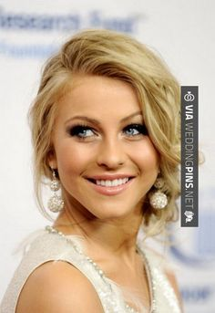 Image Detail For Julianne Hough Prom Updo Hairstyle Zimbio Veronica Islas Side Bun Wedding Hair