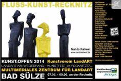 Kunst Offen 2014   Kunst Offen – Fluss – Kunst -Recknitz – Nando Kallweith