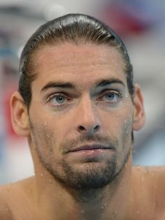 Oh la la! French athlete, Camille Lacourt has that Armani ad look dontcha think? His long locks, gorgeous eyes and chiselled cheekbones have made us go weak at the knees while wishing we snapped up some Olympic swimming tickets… SEE: HOT CELEBS IN ADVERTS ENJOY THIS BUNCH OF TOPLESS TOTTY! GET SEXY WITH THE NEW SPORTS LUXE TREND!