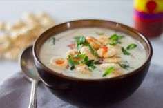 Old-fashioned oyster stew gets a modern twist when made in the Anova Sous Vide Precision Cooker. We like to serve ours with oyster crackers and hot sauce. Anova Recipes, Oyster Stew, Oyster Crackers, Sous Vide, Hot Sauce, Oysters, Thai Red Curry, Cooker