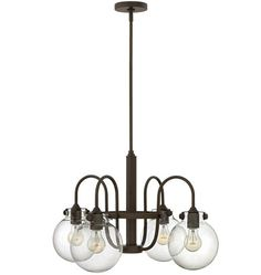 Congress Chandelier in Oil-Rubbed Bronze / Rejuvenation / $699