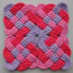 Drea_Dear: National Crochet Month - Celtic Knot Squares