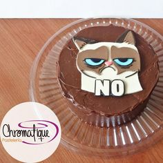 Grumpy Cat Cake Torta Del Gato Grunon Facebook