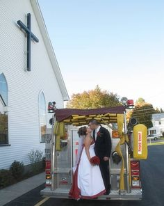 Firefighter wedding cake topper Precious Moments Figurines