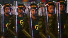 Spain suspends sale of riot gear to Venezuela in light of turmoil Gears, Spain, Politics, Venezuela, Gear Train, Political Books
