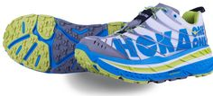 Running shoes for ultramarathon/trail running. The Hoka One One Stinson Evo Shoes.