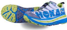 Running shoes for ultramarathon/trail running. The Hoka One One Stinson Evo Shoes.