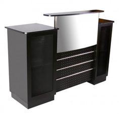 Mandy Reception Desk Showcase - $750 ,  https://www.ebuynails.com/shop/mandy-reception-desk-showcase/  #furniture #spasalon #spafurniture #nailtable #salonfurniture #nailsalon