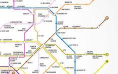 Le plan de métro des meilleurs bars de Paris !