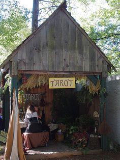 Tarot readings at King Richard's Faire 2012