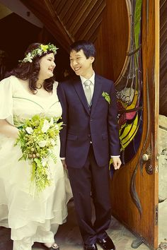 Carla & Jon's intimate and enchanted forest wedding