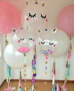 Buy Pink Unicorn Party Unicorn Balloons Air Unicorn Birthday Party Decorations Kids Baloons DIY Birthday Ballons Decor Birthday at Wish - Shopping Made Fun