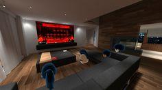 Oculus RiftとHTC Viveユーザーがインターネットを通じて仮想空間にアバターで集合できるVRアプリが「Bigscreen」です。1つの部屋に4人まで入ることができ、それぞれが自分のP