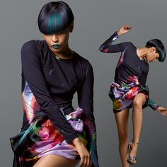Color Zoom '12   Collection – Looks & Styles - Amira Elumen hair color