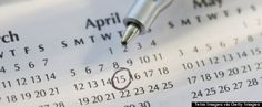 april 15 calendar.     Tax Day stages