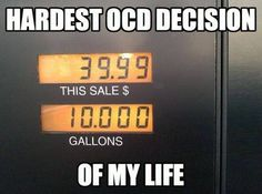 Do any of you suffer from this affliction? #OCD #FunnyFriday