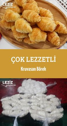 Very Delicious Croissant Burrito- Çok Lezzetli Kruvasan Börek Very Delicious Croissant Burrito - Croissant, Burritos, Dessert Simple, Köstliche Desserts, Dessert Recipes, Pizza Pastry, Food Crush, Yummy Food, Tasty