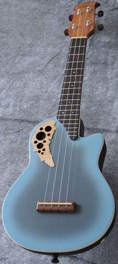 lardyfatboy: Ovation UCE48 Adamas Blue Concert Ukulele (only available in Japan - and this is a full Ovation not an Applause by Ovation model) =Lardys Ukulele of the day - a year ago --- https://www.pinterest.com/lardyfatboy/