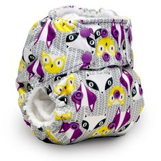 Rumparooz g2 One Size Pocket Diaper with 6-r Soaker- SNAP