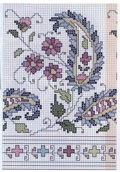 This post was discovered by Wa Cross Stitch Cushion, Cross Stitch Rose, Cross Stitch Borders, Cross Stitch Flowers, Cross Stitch Designs, Cross Stitching, Cross Stitch Patterns, Folk Embroidery, Cross Stitch Embroidery