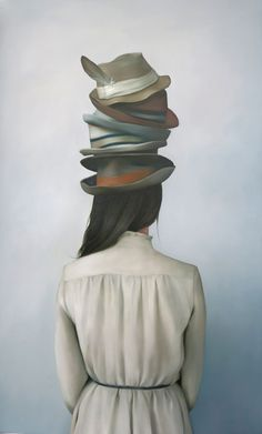 Amy Judd 'And called it macaroni' Oil on canvas