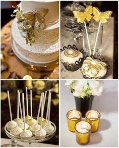 08 hochzeit dekoration gelb luxus schmetterling kerzen deko Neuanfang! Schmetterlinge Hochzeit Idee