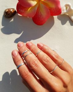 Lifou 'Beauty in Simplicity' silver rings for gentle hearts who believe that there is beauty in simplicity 🌊💎Hammered and basic silver rings. Silver Rings, Hearts, Jewelry, Jewlery, Bijoux, Jewerly, Jewelery, Heart, Jewels