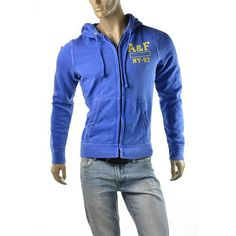 Abercrombie & Fitch Mens Hoodie A Northside Trail Sweatshirt