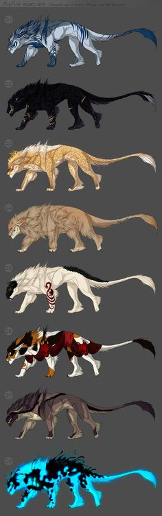 By popular demand I've decided to bring back the Aryllis adoptables Rules: Payment can be made by Paypal or deviantART points (1$ = 80) The starting bid for all designs is 1$. Do not bid if you can...