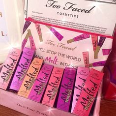 Love too faced makeup!
