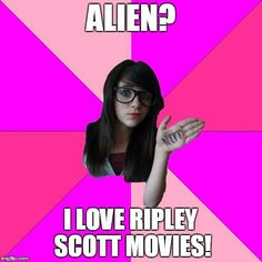 #alien ? I #love #Ripley Scott #movies #LetsGetWordy