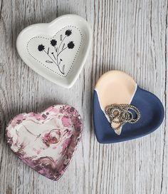 Heart shaped Jewellery holders 3 days (c) Ella Johnston