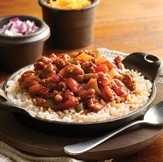 Hearty Cowboy Chili #recipe with boil-in-bag @SuccessRice