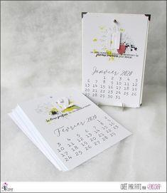 """Fati : Tampons & matrices de coupe (dies) #4enscrap """"Meilleurs voeux"""" Mini Albums, Avant Premiere, Dora, Tampons, Calendar, Cards, Scrapbooking, Calendar Pages, Winter Collection"""